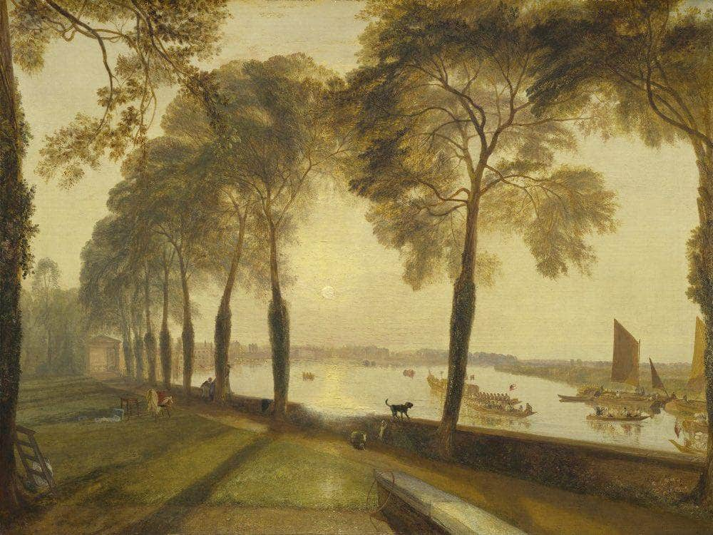 Mortlake Terrace By Joseph Mallord William Turner