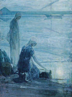 Moses In The Bullrushes 1921 By Henry Ossawa Tanner