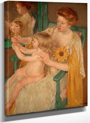 Mother And Child By Cassatt Mary