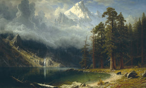 Mount Corcoran 1877 By Albert Bierstadt