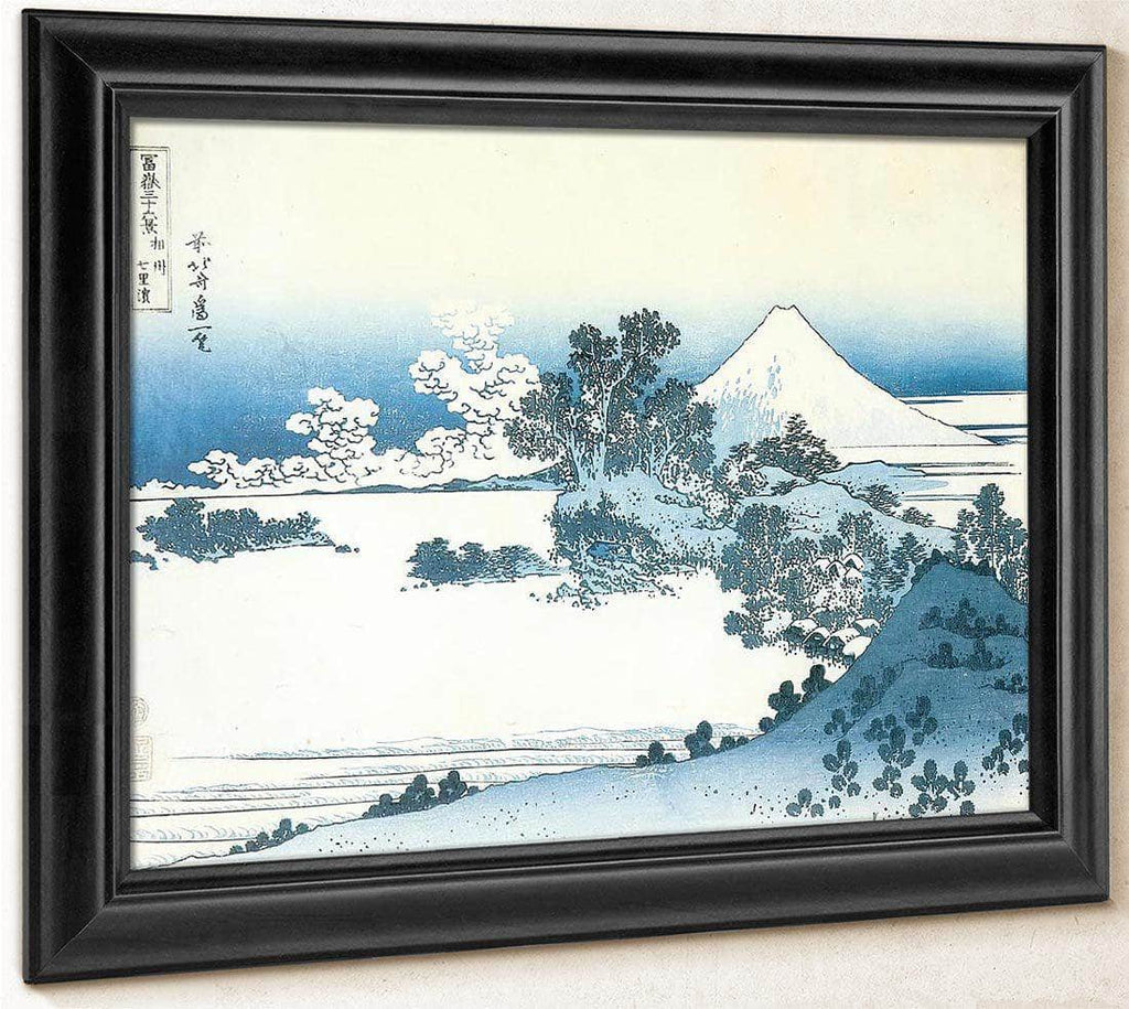 Mount Fuji Seen From Shichirigahama By Hokusai