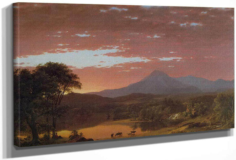 Mount Kakahdin By Fredric Edwin Church