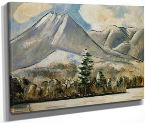 Mount Katahdin Maine First Snow No 1 By Marsden Hartley