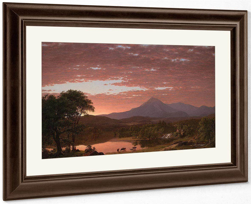Mountain Ktaadn By Frederic Edwin Church
