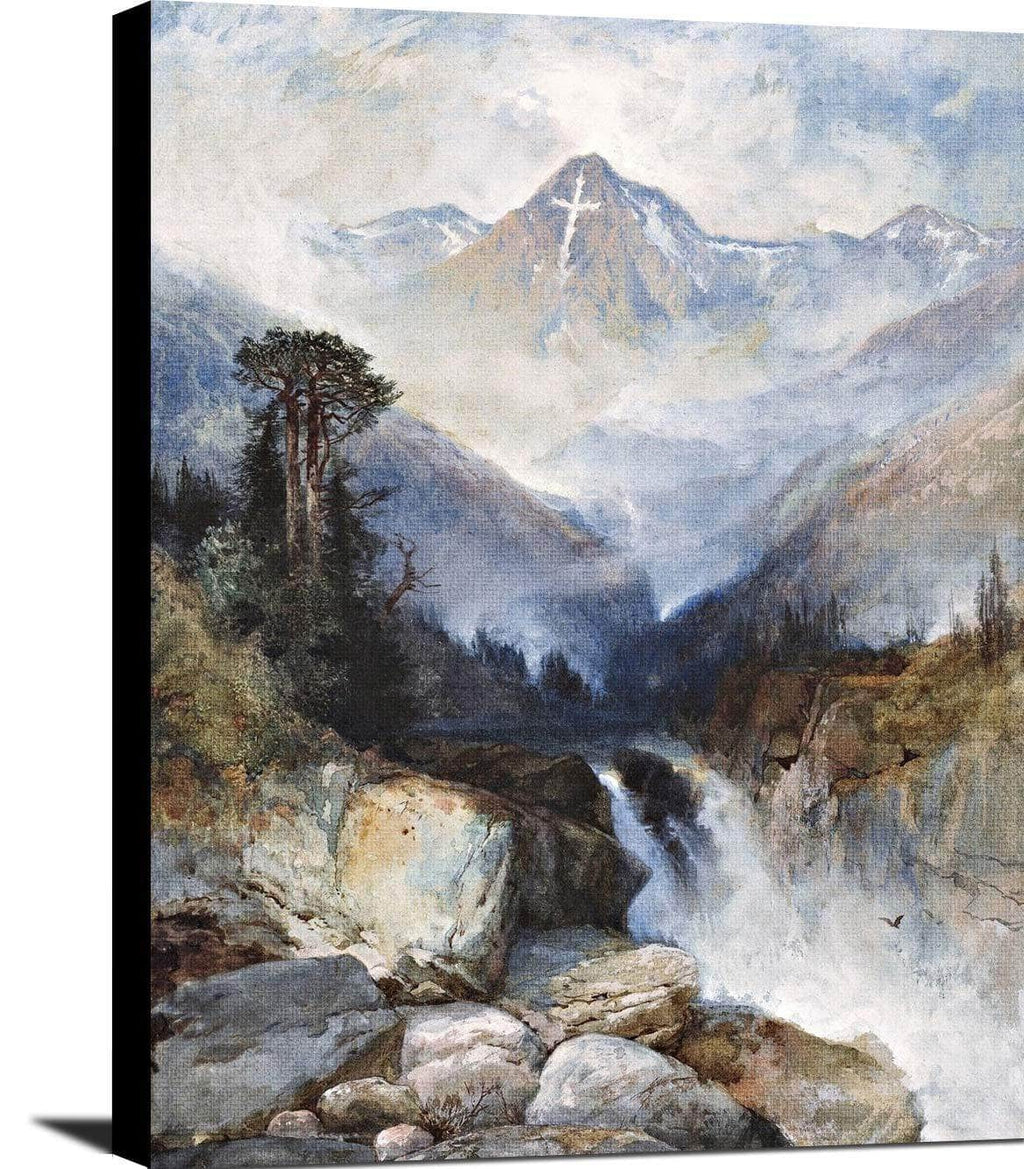 Mountain Of The Holy Cross Painting Jasper Francis Cropsey Canvas Art