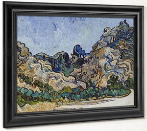 Mountains At Saint Remy (Montagnes A Saint Remy) By Vincent Van Gogh