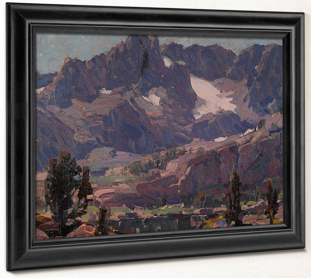 Mountains Of Granite, Sierras By Edgar Payne