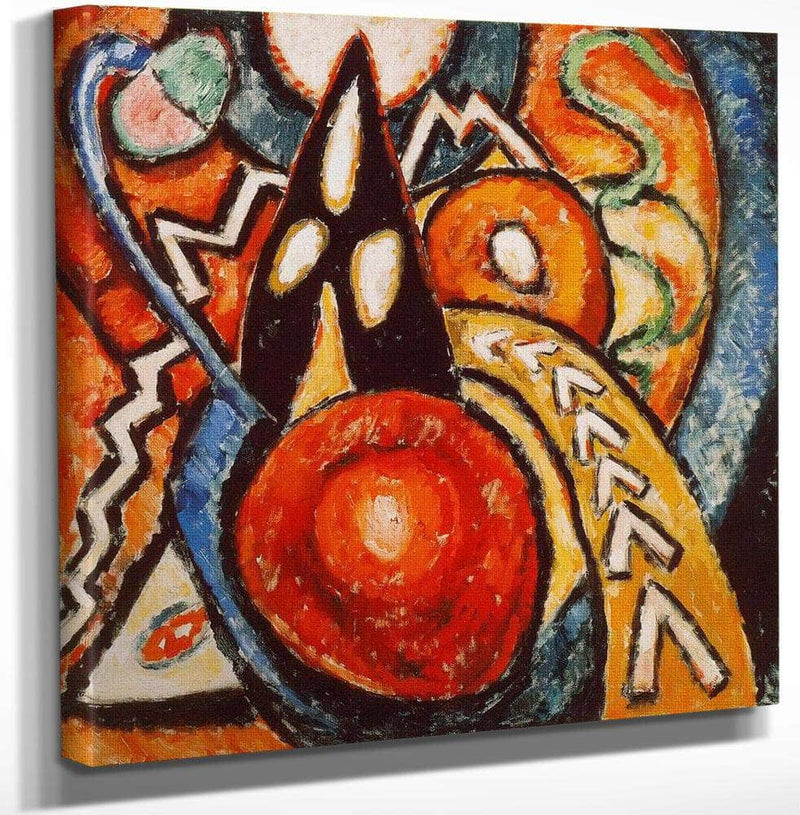 Movements 1915 By Marsden Hartley