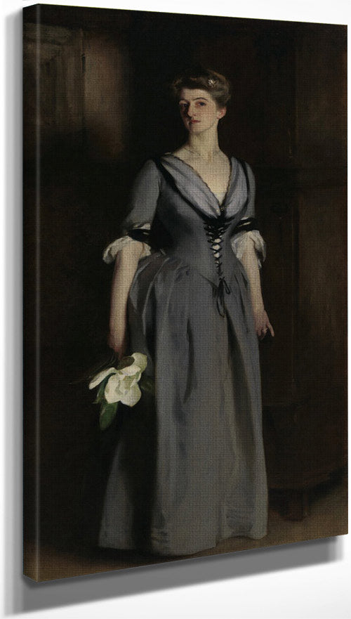 Mrs. Albert Vickers I By John Singer Sargent