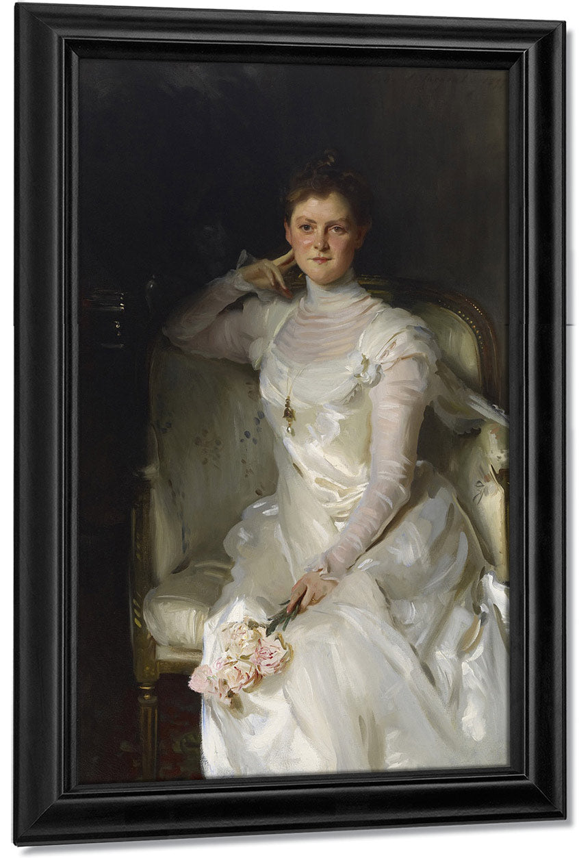 Mrs. Joshua Montgomery Sears (Sarah Choate Sears) By John Singer Sargent