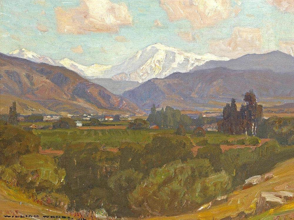 Mt. San Antonio 1912 By William Wendt