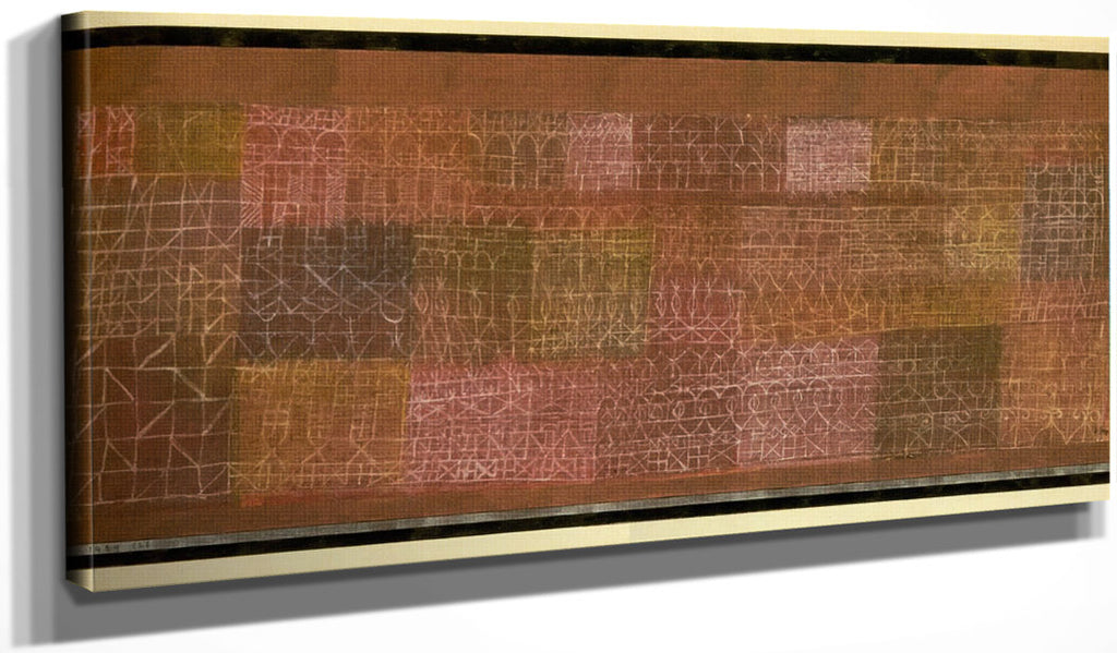 Mural Painting 1924 128 By Paul Klee