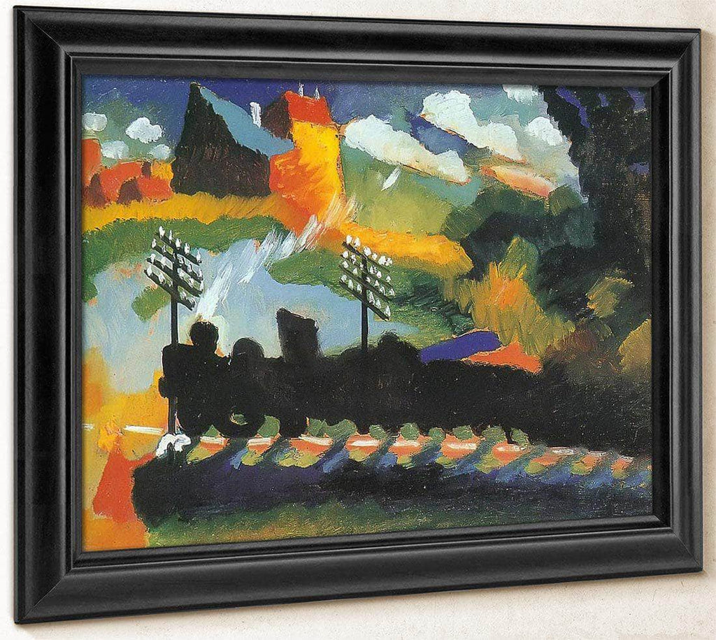 Murnau View With Railway By Wassily Kandinsky
