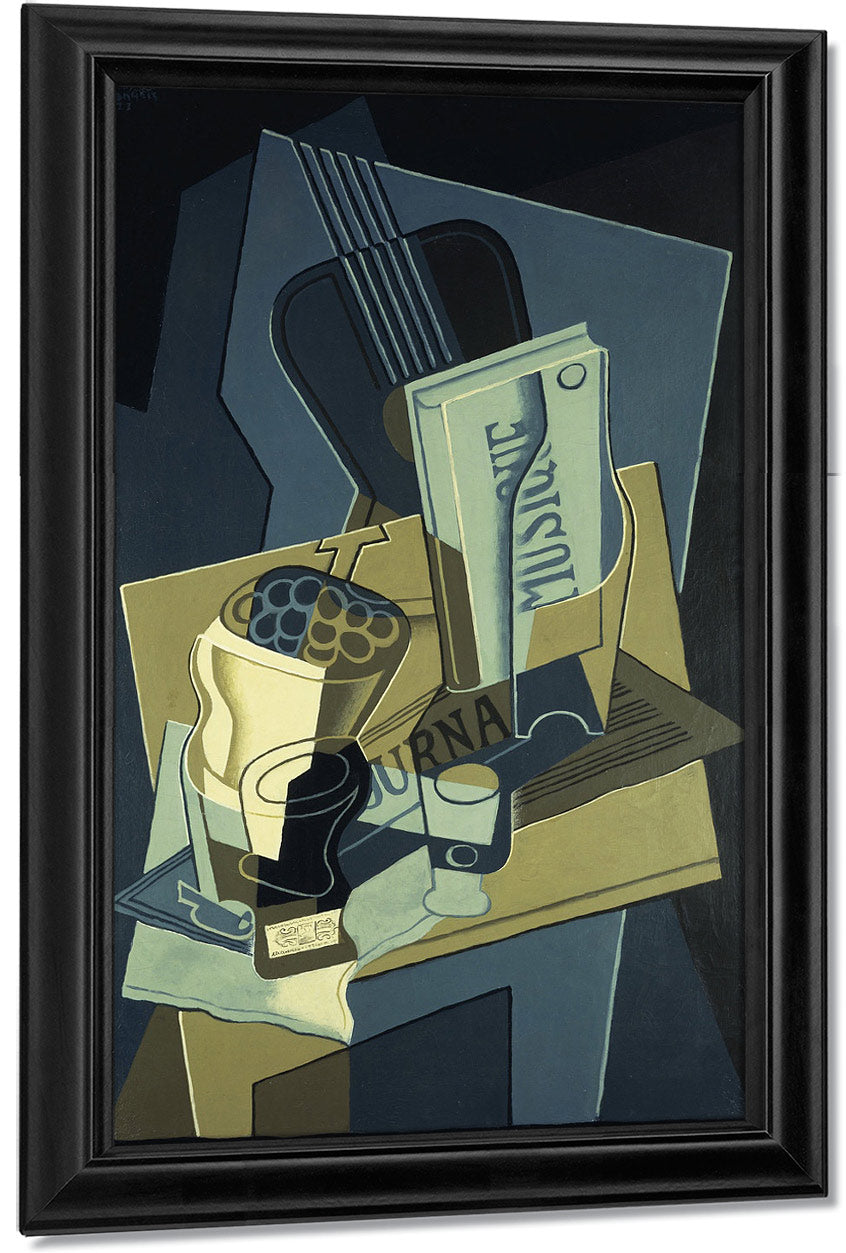 Music Book 8127 By Juan Gris