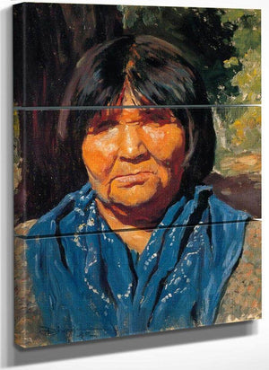 Nancy Pomo Indian By Maynard Dixon