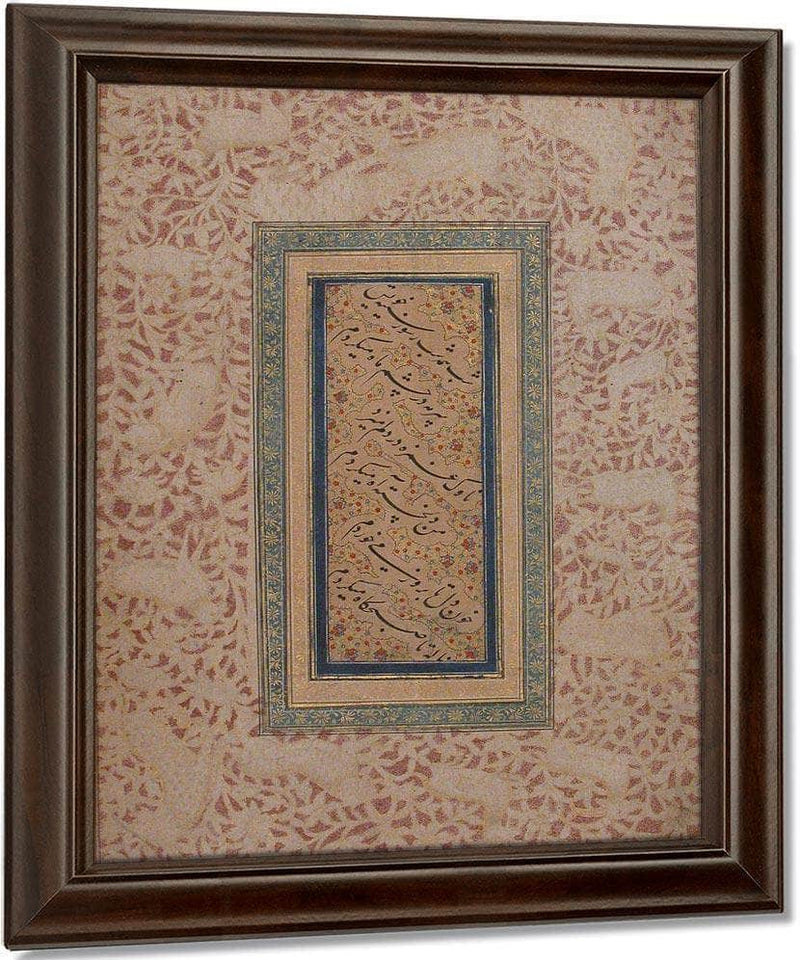 Nasta 1039 Liq Calligraphy 1640 By Bichitr