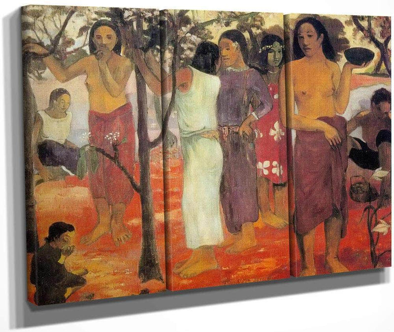 Nave Nave Mahana ( Delicious Day) By Paul Gauguin
