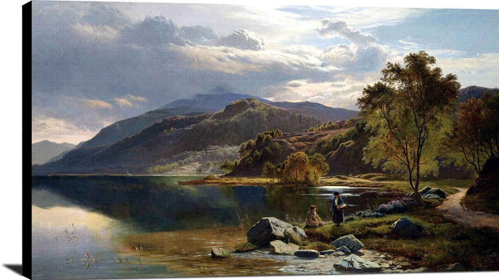 Near Barmouth, North Wales Painting Sidney Richard Percy Canvas Art