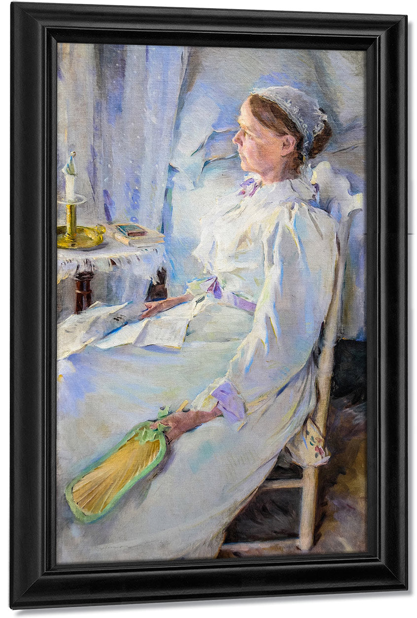 New England Woman 1895 By Cecilia Beaux