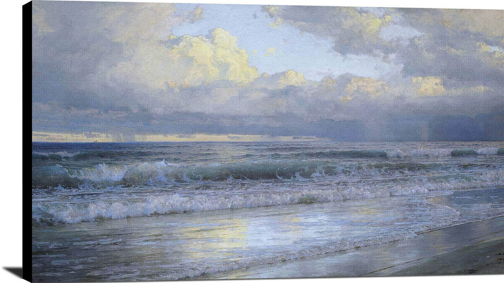 New Jersey Shore Painting William Trost Richards Canvas Art