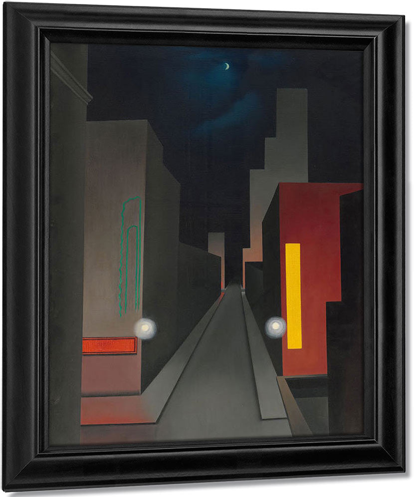 New Moon New York By George Ault