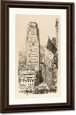 New York Bouquet By Childe Hassam
