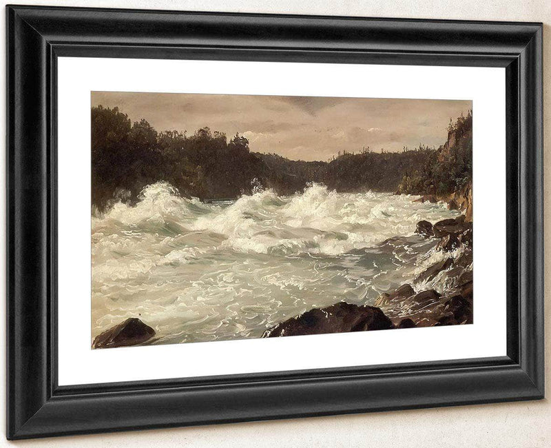 Niagra River Gorge By Frederic Edwin Church