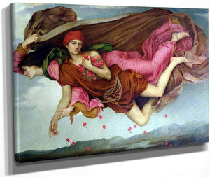 Night And Sleep 1878 By Evelyn De Morgan