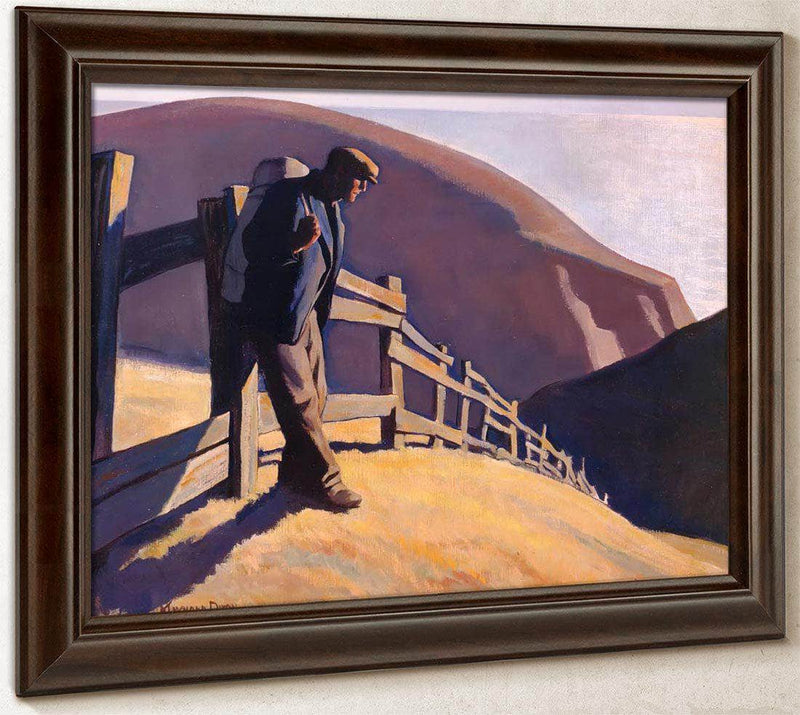 No Place To Go By Maynard Dixon