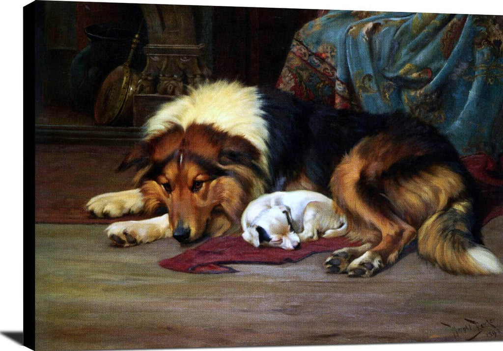 No Walk Today Painting Wright Barker Canvas Art