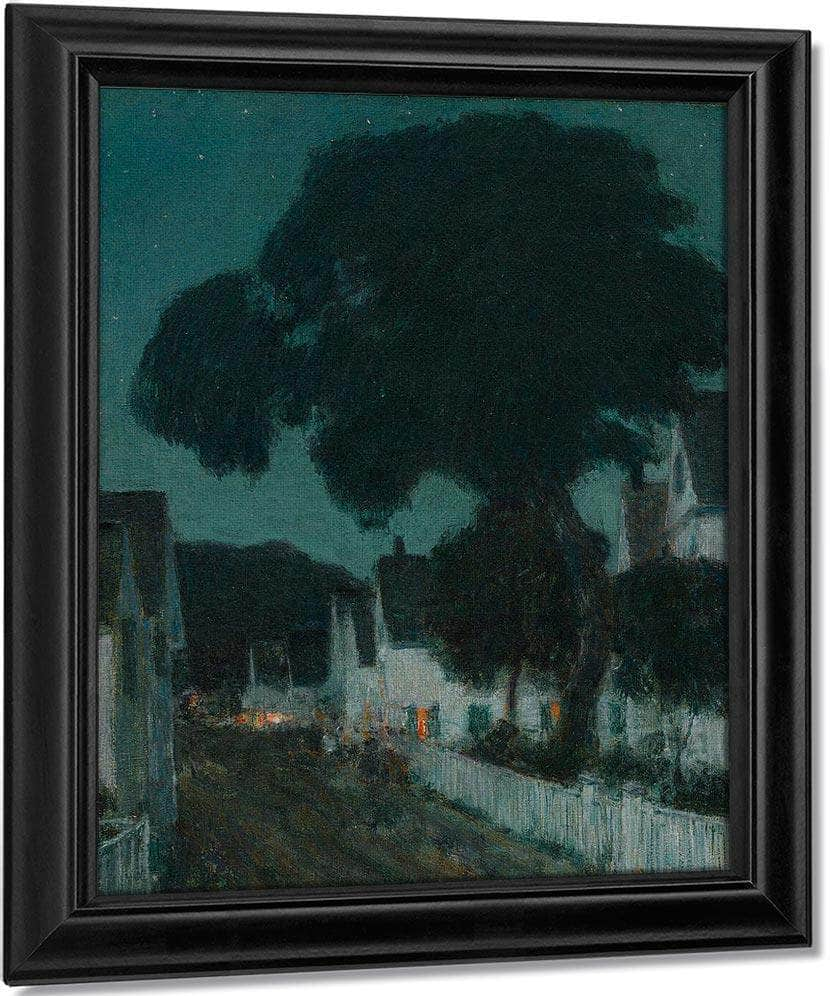 Nocturne, Provincetown By Childe Hassam