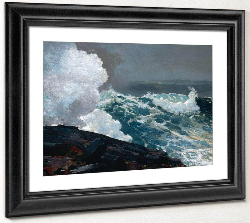 Northeaster 1901 By Winslow Homer