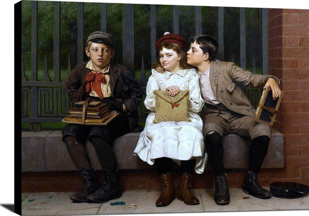 Not In It Painting John George Brown Canvas Art
