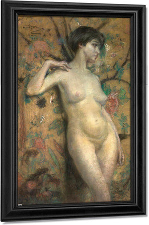 Nude Against Screen By Alice Pike Barney