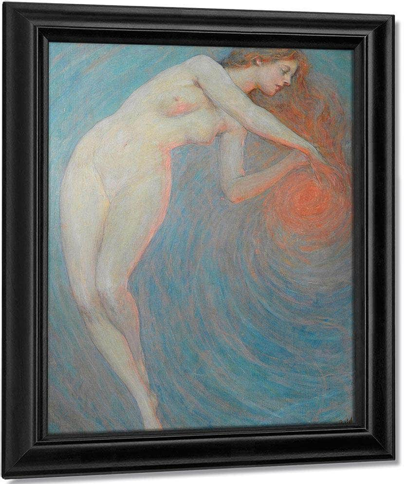 Nude With Orbit By Robert Reid