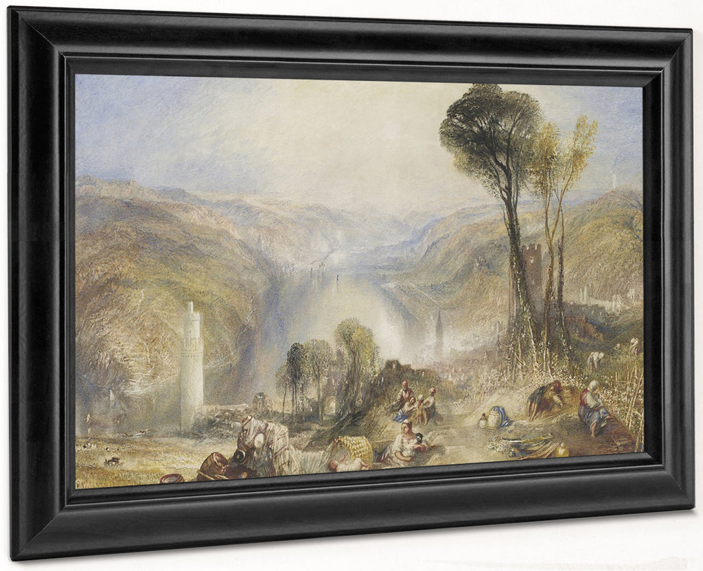 Oberwesel By Joseph Mallord William Turner