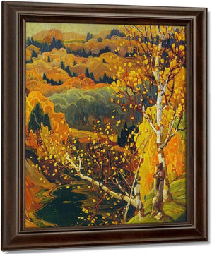 October Gold By Frank Carmichael