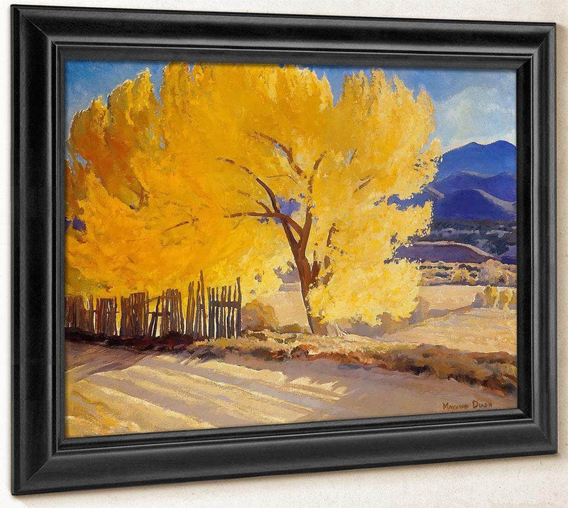 October Gold By Maynard Dixon