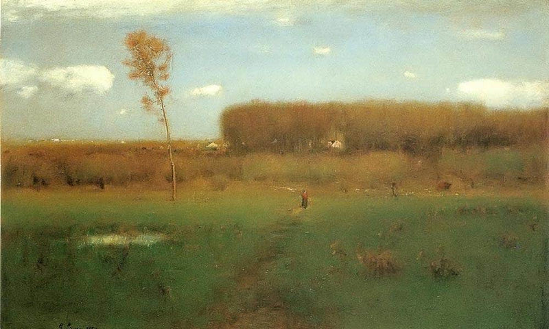 October Noon By George Inness