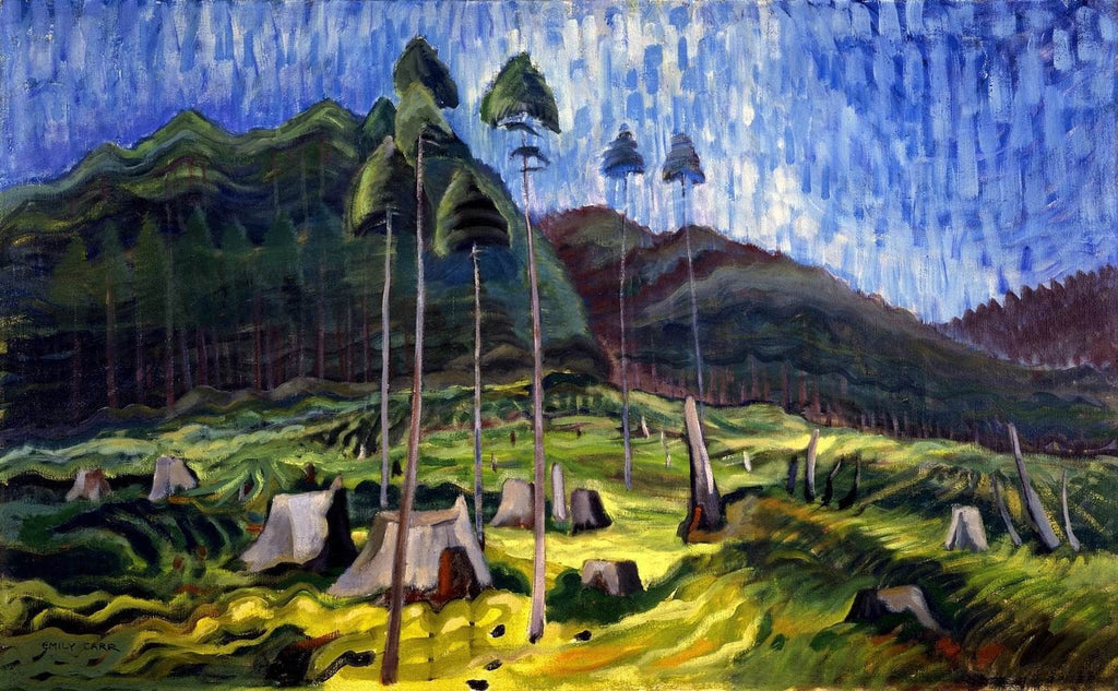 Odds And Ends Painting Emily Carr Canvas Art
