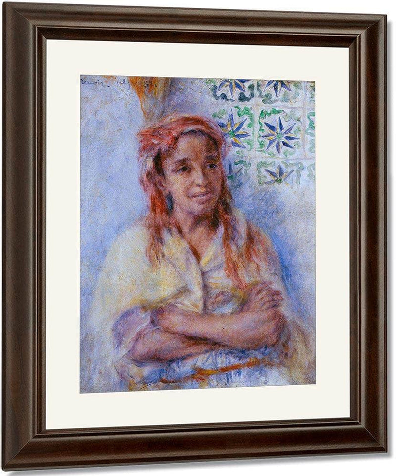 Old Arab Woman By Pierre August Renoir