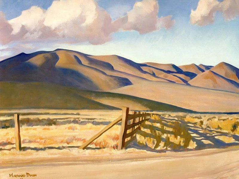 Old Corrals By Maynard Dixon