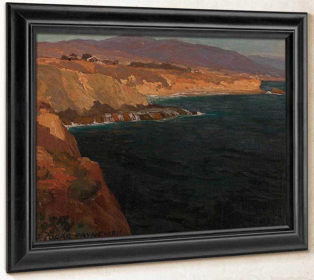 Old Laguna, 1911 By Edgar Payne