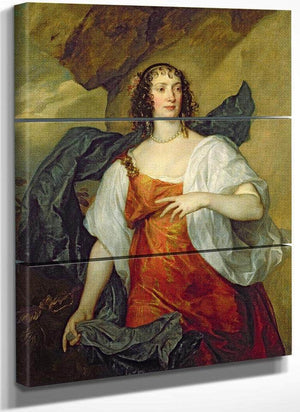 Olivia Wife Of Endymion Porter By Anthony Van Dyck