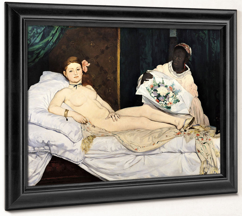 Olympia 1 By Edouard Manet