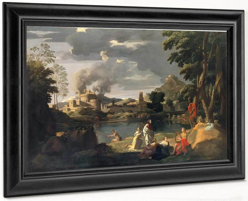 Orpheus And Eurydice By Nicholas Poussin