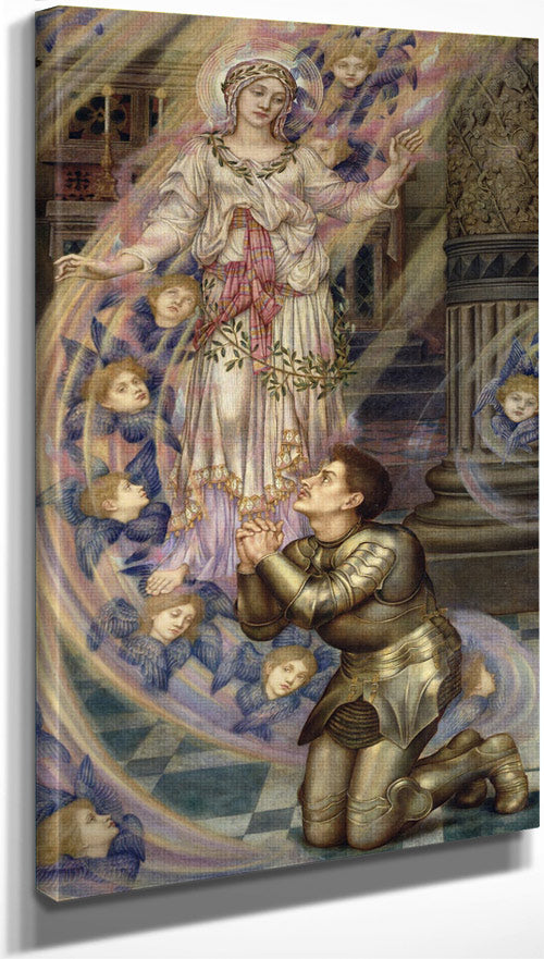 Our Lady Of Peace 1902 By Evelyn De Morgan
