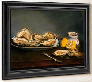 Oysters By  Manet Edouard