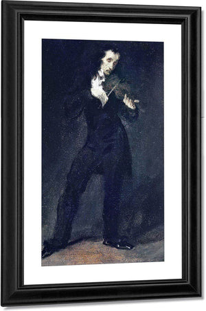 Paganini By Eugene Delacroix