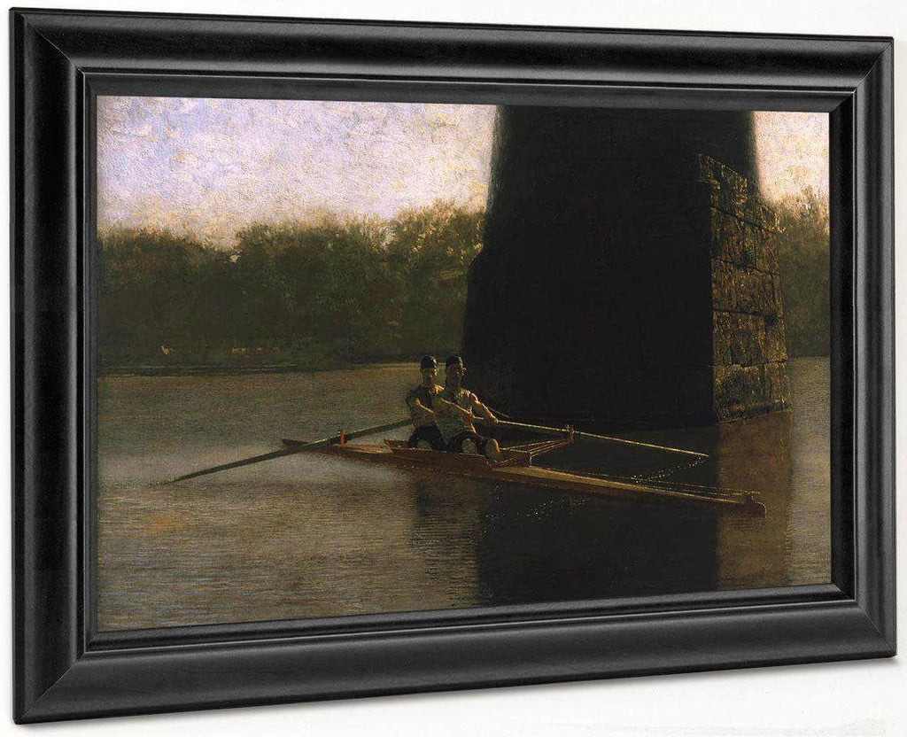 Pair Oared Shell (The Oarsmen) By  Eakins Thomas
